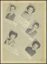 1950 Springville High School Yearbook Page 12 & 13