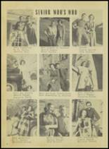 1950 Springville High School Yearbook Page 14 & 15