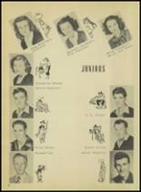 1950 Springville High School Yearbook Page 22 & 23