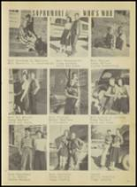 1950 Springville High School Yearbook Page 24 & 25