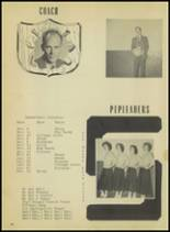 1950 Springville High School Yearbook Page 34 & 35