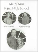 2001 Bland High School Yearbook Page 50 & 51