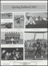 2001 Tushka High School Yearbook Page 44 & 45