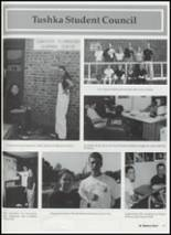 2001 Tushka High School Yearbook Page 64 & 65