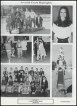 2001 Tushka High School Yearbook Page 74 & 75