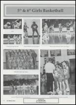 2001 Tushka High School Yearbook Page 84 & 85