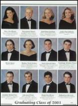 2001 Baird High School Yearbook Page 22 & 23