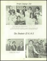 1964 Kenmore High School Yearbook Page 92 & 93