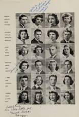 1942 Clayton High School Yearbook Page 12 & 13
