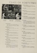 1942 Clayton High School Yearbook Page 20 & 21
