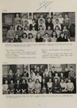 1942 Clayton High School Yearbook Page 28 & 29