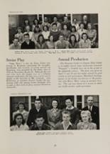 1942 Clayton High School Yearbook Page 42 & 43