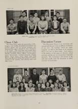1942 Clayton High School Yearbook Page 50 & 51