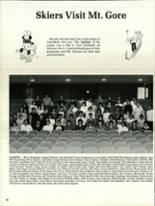 1984 North Warren High School Yearbook Page 34 & 35