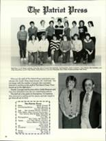 1984 North Warren High School Yearbook Page 36 & 37