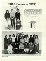 1984 North Warren High School Yearbook Page 50 & 51
