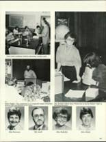 1984 North Warren High School Yearbook Page 126 & 127