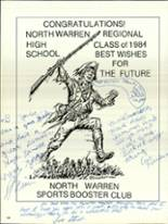 1984 North Warren High School Yearbook Page 202 & 203