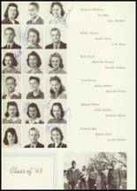 1942 Sweetwater-Newman High School Yearbook Page 40 & 41