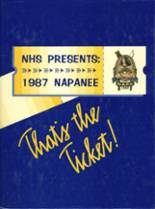 1987 Yearbook Napa High School