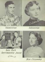 1954 Winston County High School Yearbook Page 56 & 57