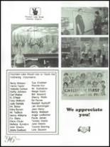 1996 Fountain Lake High School Yearbook Page 124 & 125