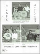 1996 Fountain Lake High School Yearbook Page 152 & 153