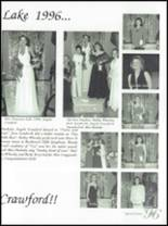 1996 Fountain Lake High School Yearbook Page 154 & 155
