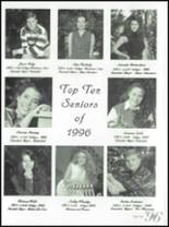 1996 Fountain Lake High School Yearbook Page 160 & 161
