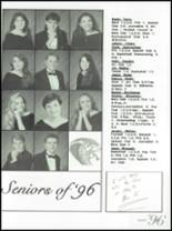 1996 Fountain Lake High School Yearbook Page 166 & 167