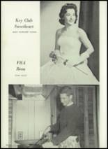 1961 Union City High School Yearbook Page 38 & 39