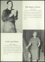 1961 Union City High School Yearbook Page 42 & 43