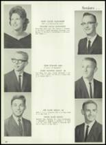 1961 Union City High School Yearbook Page 62 & 63