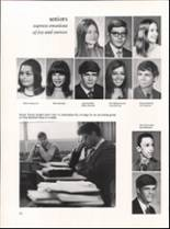 1971 Hutchinson High School Yearbook Page 50 & 51