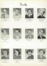 1956 Hoover High School Yearbook Page 16 & 17