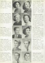 1956 Hoover High School Yearbook Page 54 & 55