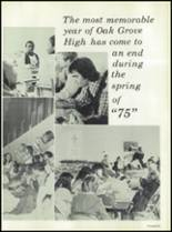 1975 Oak Grove High School Yearbook Page 190 & 191