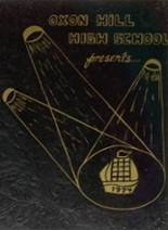1974 Yearbook Oxon Hill High School
