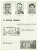 1958 Washington Community High School Yearbook Page 20 & 21