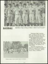 1958 Washington Community High School Yearbook Page 68 & 69
