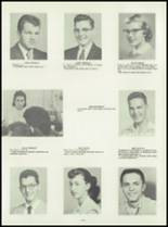 1958 Washington Community High School Yearbook Page 82 & 83