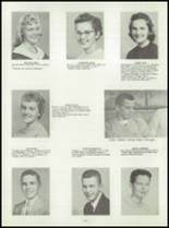 1958 Washington Community High School Yearbook Page 86 & 87