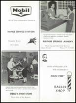 1961 Sulphur Springs High School Yearbook Page 186 & 187