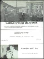 1961 Sulphur Springs High School Yearbook Page 212 & 213