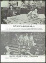 1961 Sulphur Springs High School Yearbook Page 218 & 219