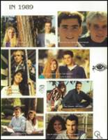 1989 West High School Yearbook Page 10 & 11