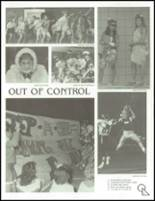 1989 West High School Yearbook Page 24 & 25