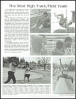 1989 West High School Yearbook Page 182 & 183