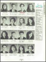 1993 Bella Vista High School Yearbook Page 164 & 165