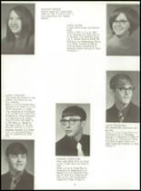 1971 Sherburn High School Yearbook Page 24 & 25